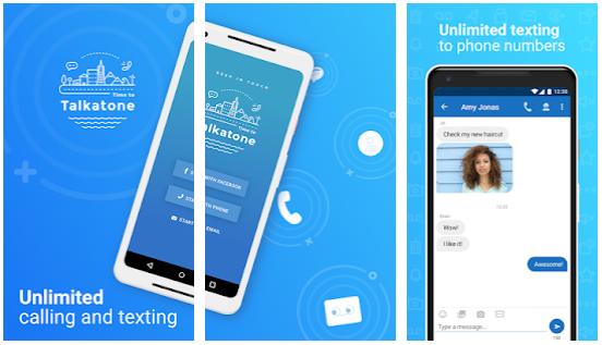 Talkatone Android app