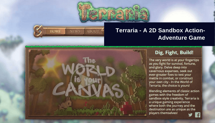 Terraria Game App for pc
